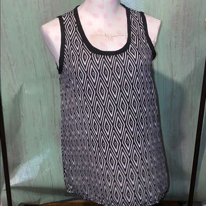 It's pink tank blouse size small